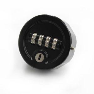 C4 mechanisch cijferslot - kleur zwart