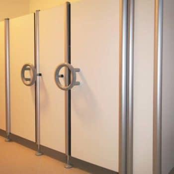 Toiletcabines HPL-compact voor kinderen