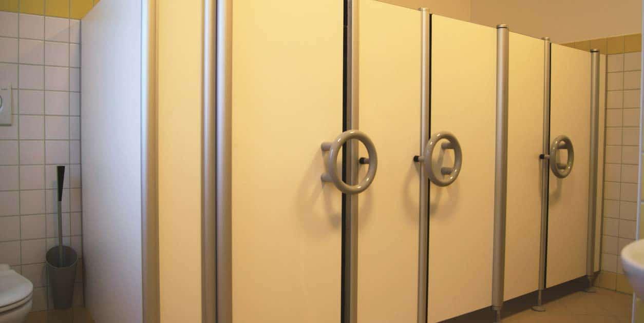 Toiletwanden kleuters