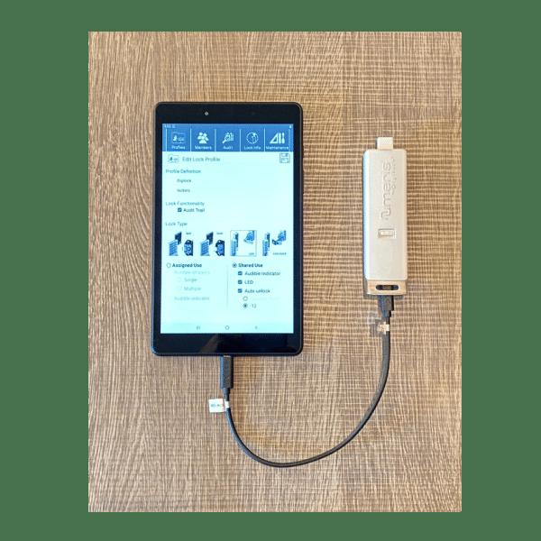 Digilock tablet & data key