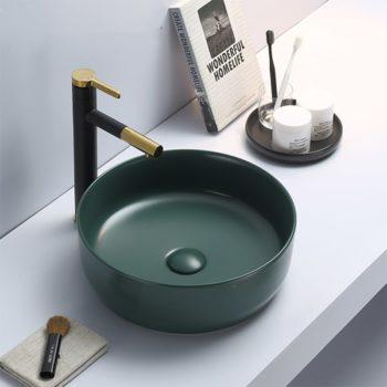 Waskom Keramiek Color Diep Groen