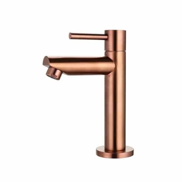 fonteinkraan opbouw rond brons